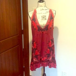 FREE PEOPLE DRESS WORN 2x